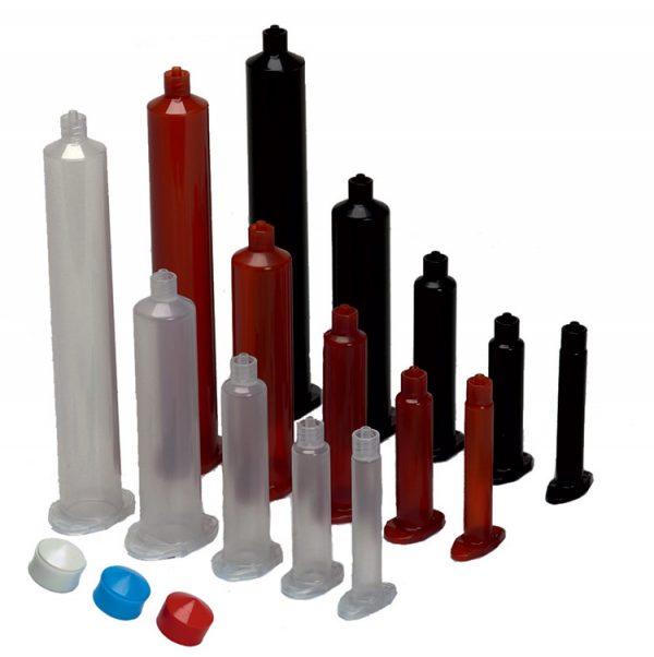 Clear Dispensing Barrels 10cc - 1000 pack
