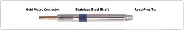 "Thermaltronics K60CH032 Chisel 90deg 3.20mm (0.13"")"