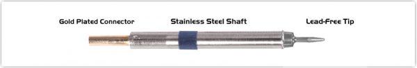 "Thermaltronics K60CS010 Conical Sharp 1.00mm (0.04"")"