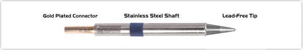 "Thermaltronics K60CS014 Conical Sharp 1.4mm (0.055"")"