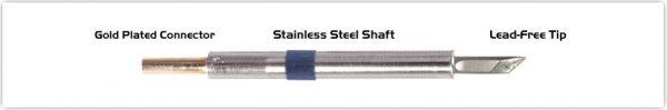 "Thermaltronics K60DS035 Knife 3.50mm (0.138"")"