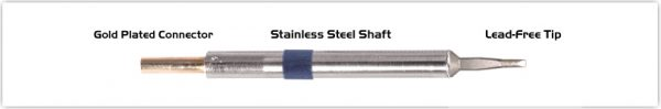 "Thermaltronics K60LR018A Chisel Long Reach 1.78mm (0.07"")"