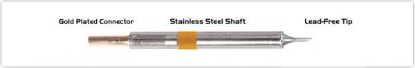 """Thermaltronics K75BV011 Bevel 60deg 1.10mm (0.04"""")"""