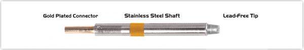 "Thermaltronics K75CH032 Chisel 90deg 3.20mm (0.13"")"