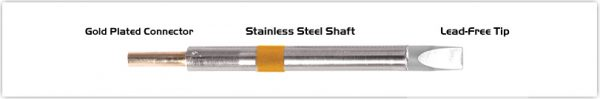 """Thermaltronics K75CH050 Chisel Extra Large 5.0mm (0.20"""")"""