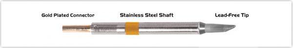 "Thermaltronics K75DS023 Hoof 60deg 3.10mm (0.122"")"