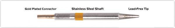 "Thermaltronics K75LR018 Chisel Long Reach 1.78mm (0.07"")"