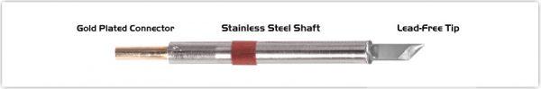 "Thermaltronics K80DS045 Knife 4.50mm (0.177"")"