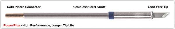 "Thermaltronics M6K100H Knife 4.50mm (0.177""), Power Plus"