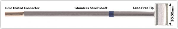 "Thermaltronics M6LB128 Blade Tip 30.0 mm (1.18"")"