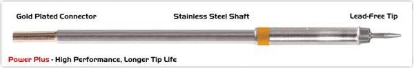 "Thermaltronics M7CS151H Conical Sharp 1.0mm (0.04""), Power Plus"
