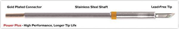 "Thermaltronics M7DS035H Knife 3.50mm (0.138""), Power Plus"