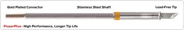 "Thermaltronics M7K100H Knife 4.50mm (0.177""), Power Plus"