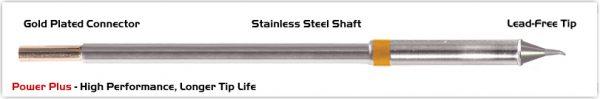 "Thermaltronics M7SB275H Bent Sharp 30deg 0.5mm (0.02""), Power Plus"