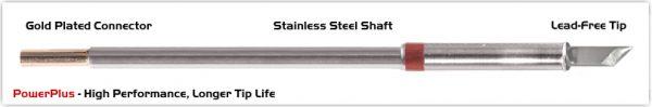 "Thermaltronics M8K100H Knife 4.50mm (0.177""), Power Plus"