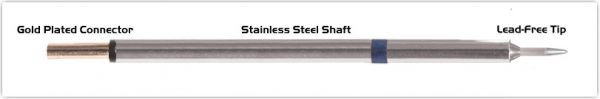"Thermaltronics PM60CS151 Conical Sharp 1.0mm (0.04"")"