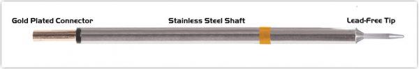 "Thermaltronics PM75CS154 Conical Sharp 1.0mm (0.04"")"