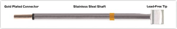 """Thermaltronics PM75LB125 Blade Tip 10.41mm (0.41"""") interchangeable for Metcal RFP-BL1"""