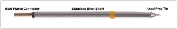 "Thermaltronics PM75SB275 Bent Sharp 30deg 0.4mm (0.016"")"