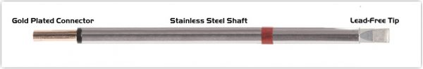 """Thermaltronics PM80LC650 Chisel Extra Large 5.0mm (0.20"""")"""