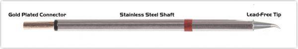 "Thermaltronics PM80SB276 Bent Sharp 30deg 0.5mm (0.02"") interchangeable for Metcal SCP-CNB05"
