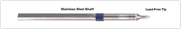 """Thermaltronics S60CH010A Chisel 30deg 1.0mm (0.04"""") interchangeable for Metcal SSC-671A"""