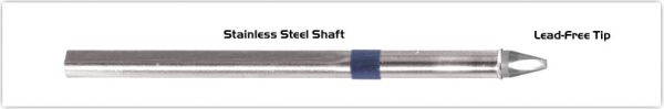 """Thermaltronics S60CH018 Chisel 30deg 1.78mm (0.07"""") interchangeable for Metcal SSC-637A"""